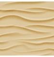 Top view seamless sea sand vector image