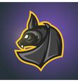 bat Sport mascot vector image vector image