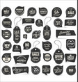 modern tag and stickers collection 1 vector image vector image
