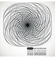 Spiral motion shapes vector image