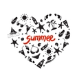 Summer elements for your design vector image