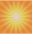 sun sunburst pattern and stylish vector image vector image