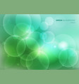 abstract green nature blurred beautiful vector image vector image
