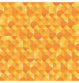 abstract orange modern geometric background vector image vector image