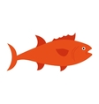 fish animal aquatic icon vector image vector image
