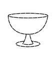 holy chalice isolated vector image vector image