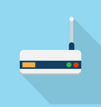 wifi router icon set of great flat icons with vector image vector image