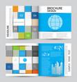 modern abstract brochure vector image