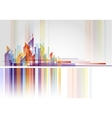 Abstract Building and City vector image