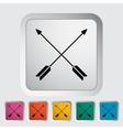 Arows icon vector image
