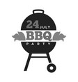 barbecue or grill party summer holiday picnic vector image vector image