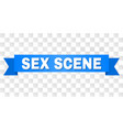 blue stripe with sex scene text vector image