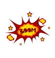 Boom sticker chat message label icon colorful