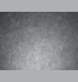 dark metal gray geometric background vector image