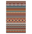 Ethnic various strips motifs in different color vector image