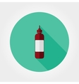 Ketchup bottle Icon vector image