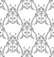 Ladybug Patterned Background vector image