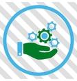 Mechanics Service Icon vector image