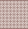 seamless floral background for textile wallpapers vector image