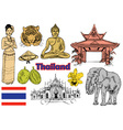Thailand vector image vector image