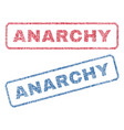 Anarchy textile stamps