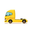 cargo truck icon isolated on white background vector image