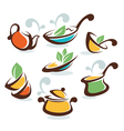 common homemade food vector image vector image