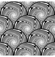 Design seamless monochrome ellipse background vector image vector image