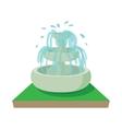 Fountain icon cartoon style vector image vector image