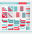 infographic elements design template for your vector image vector image