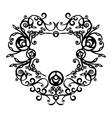 Ornament black 69 vector image