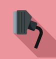 tv adapter icon flat style