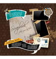 Vintage scrapbook vector | Price: 3 Credits (USD $3)