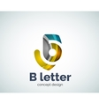 B letter concept logo template