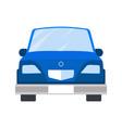 car blue color closeup vector image