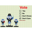 Market research Vote vector image vector image