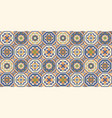 mediterranean seamless pattern from moroccan tiles vector image vector image