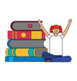 people education related vector image vector image