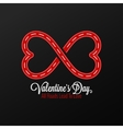 Valentines Day Concept Design Background vector image vector image
