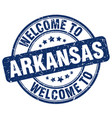 welcome to arkansas vector image vector image