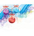 christmas ornate vector image