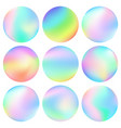 abstract colorful spheres vector image vector image