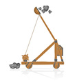 catapult 03 vector image vector image