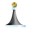 cone one vector image vector image