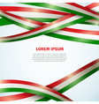 Flag Ribbon Background vector image vector image