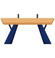 Gymnastics equipment balance bar vector image