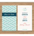 wedding card pattern green 02 vector image vector image