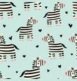 zebra pattern vector image