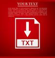 txt file document icon download txt button icon vector image