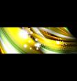 fluid liquid wave pattern vector image vector image